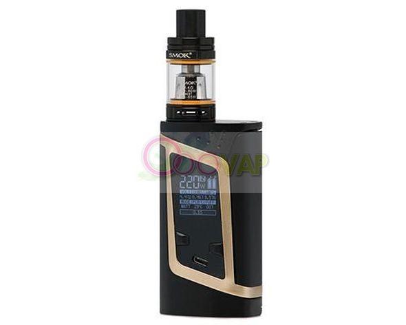 Alien kit 220 wat smoke black /gold 2 ML TPD