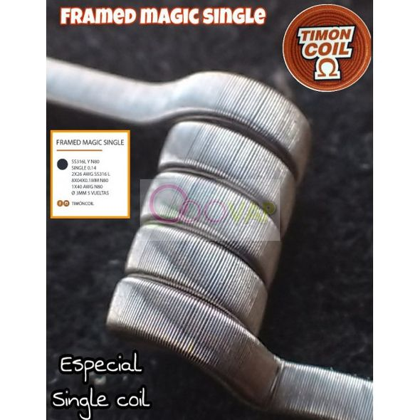 COIL FRAMED MAGIC SINGLE 0.14 TIMON COIL