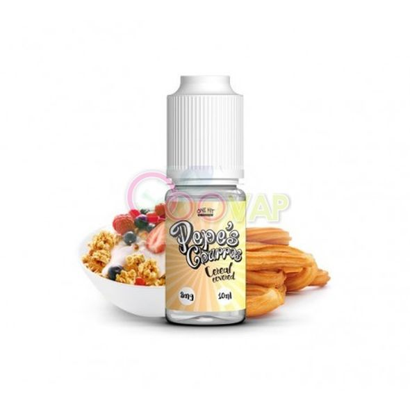 Cereal covered  Pepes churros 10 ml 3 mg