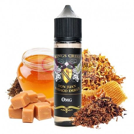 DON JUAN TABACO DULCE KINGS CREST 50 ML  TPD