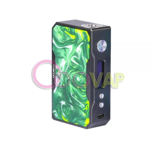 DRAG BLACK MOD VOOPOO RESIN 157W JADE