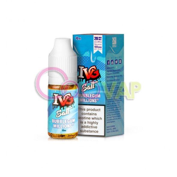 Nic Salt - Bubblegum 10ML - IVG  10ML - 20Mg