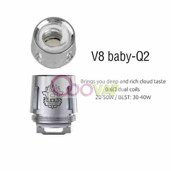 RESISTENCIA TFV8 SMOK Q2 0.6 OHM