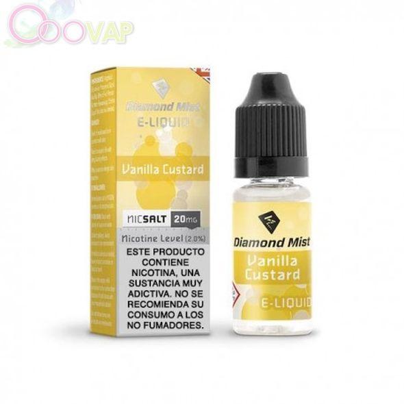 Vainilla custard salt 20 mg by diamond Mist