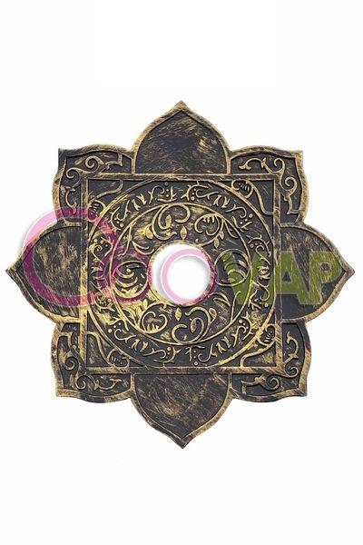 plato arabe 24cm gold