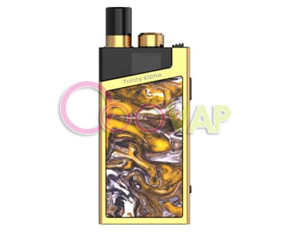 smok trinity alpha kit (prism gold)