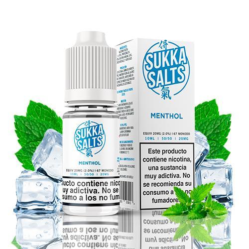 sukka salts menthol 10ml 20mg