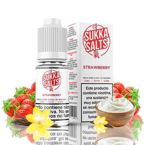 sukka salts strawberry 10ml 20mg
